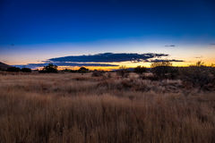 Karoo wschód słońca Obrazy Royalty Free
