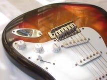 Karosserie der elektrischen Gitarre Stockbilder