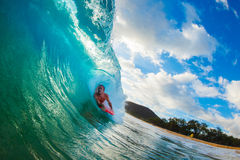 Karosserien-Kostgänger-Surfen stockbilder