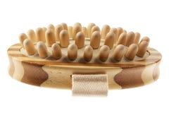 Karosserien-Massage-Pinsel stockfoto