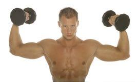 Karosserienerbauer-Arm-Training Stockfoto