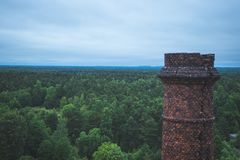 Karosta teren w Liepaja, Latvia Zdjęcie Royalty Free