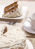 Karotte-Kuchen 006 Lizenzfreies Stockfoto