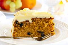 Karotte-Kuchen Lizenzfreie Stockfotos