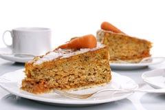 Karotte-Kuchen Stockfoto