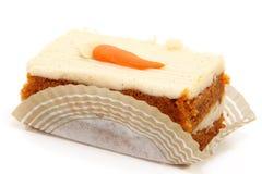 Karotte-Kuchen-Scheibe Lizenzfreie Stockfotos