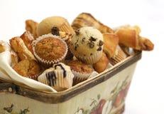 Karotte- und Schokoladenmuffins Lizenzfreie Stockfotografie