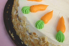 Karottekuchen Lizenzfreies Stockfoto