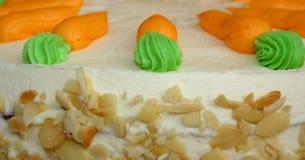 Karottekuchen stockbild