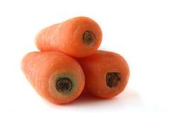 Karotten auf dem Hintergrund clouseup Stockbild