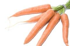 Karotten auf weißem Hintergrund 003 Lizenzfreie Stockbilder