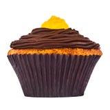 Karotten-kleiner Kuchen Lizenzfreies Stockfoto