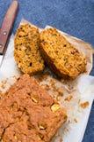 Karottenkuchen Stockfotografie