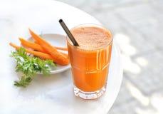 Karottensaft Lizenzfreies Stockbild