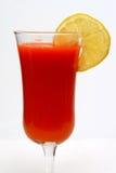 Karottensaft und Zitrone Lizenzfreie Stockfotos