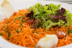 Karottensalat Lizenzfreies Stockfoto