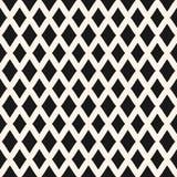 Karowy bezszwowy wzór Wektorowi rhombuses geometryczni Fotografia Royalty Free