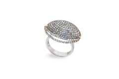 karowy złoty pierścionek Obraz Stock