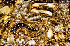 karowy złoto Obrazy Royalty Free