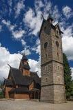Karpacz的Wang教会 免版税库存照片