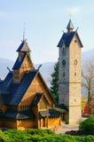Karpacz church Vang Stock Photos