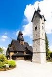 Karpacz kyrka Royaltyfri Bild