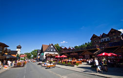Karpacz, Poland in summer Royalty Free Stock Photo