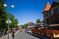 Karpacz, Poland in summer Royalty Free Stock Photos
