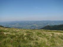 Karpaten- Berge in der West-Ukraine stockfotografie