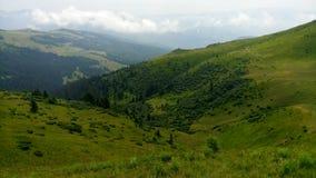 Karpaten-Chornohora Stockbild