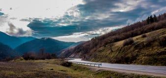 Karpaten-Mountain View Stockfotos