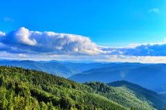 Karpaten Mountais, Ukraine Lizenzfreie Stockbilder