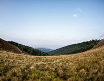 Karpathyan mountains. In Ukraine. Good place for hicking royalty free stock images