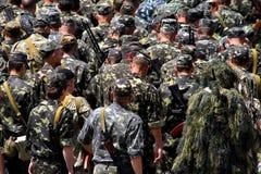 Karpatisch bataljon van territoriale defensie Stock Afbeeldingen