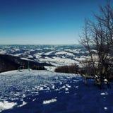 Karpatische berg Stock Foto