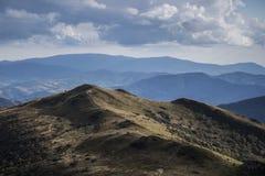 Karpatische berg in Polen Royalty-vrije Stock Foto