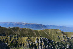 Karpatische bergen, Roemenië Stock Afbeelding