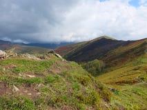 Karpatische landschappen Royalty-vrije Stock Afbeelding