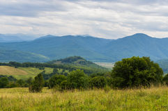 karpaty κοιλάδα της Ουκρανίας βουνών τοπίων Δημοκρατία Adygea, περιοχή Krasnodar, της Ρωσίας Στοκ φωτογραφίες με δικαίωμα ελεύθερης χρήσης