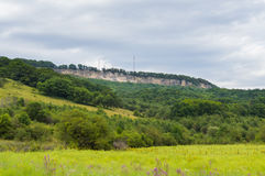 karpaty κοιλάδα της Ουκρανίας βουνών τοπίων Δημοκρατία Adygea, περιοχή Krasnodar, της Ρωσίας Στοκ Φωτογραφίες