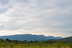 karpaty κοιλάδα της Ουκρανίας βουνών τοπίων Δημοκρατία Adygea, περιοχή Krasnodar, της Ρωσίας Στοκ εικόνες με δικαίωμα ελεύθερης χρήσης