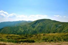 Горы весны, Goverla в Украин. Стоковое фото RF