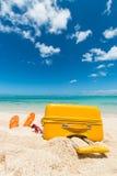 Karretje in het zand Royalty-vrije Stock Foto's