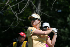 Karrie Webb at evian 2007 Stock Photo