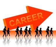Karriere lizenzfreie abbildung