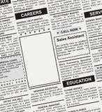 Karriere-Anzeige Lizenzfreie Stockfotos