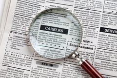 Karriere-Anzeige Lizenzfreies Stockfoto