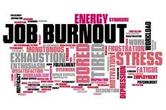 Karriere Burnout Lizenzfreies Stockbild