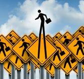 Karriere-Erfolg Lizenzfreie Stockfotos