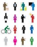Karriere-Ikone Lizenzfreies Stockfoto